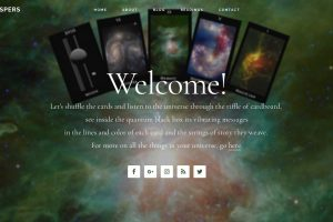 Cosmic Whispers Tarot